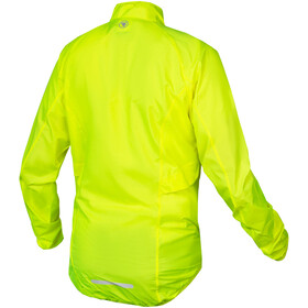 Endura Pakajak Jas Heren, neon yellow